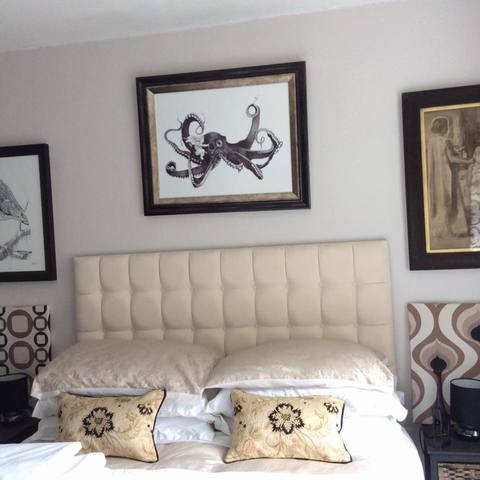 A avid collector sent a stunning shot of 'Eros Riding the Octopus' in situ