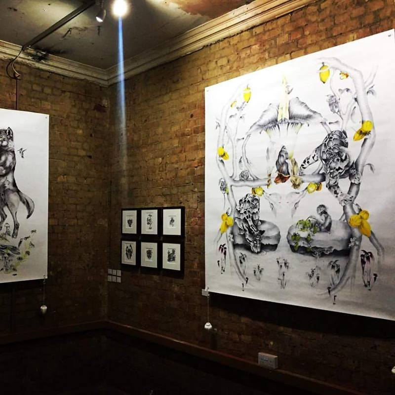 London Illustration Fair 2016 Install shot